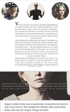 Visenya Targaryen ~ Game of Thrones