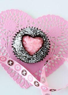 Tutorial para hacer cupcakes de San Valentín.