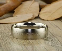 Custom Elvish Wedding Bands, Engagement Rings by J Rings Studio – Page 2#titaniumweddingringsets#titaniumweddingbandsetshishers#handmadeweddingbands#titaniumengagementringsforher#titaniumweddingringshisandhers#titaniumweddingringsetsforhimandher#handmademensweddingband#blacktitaniumweddingringsforher#titaniumweddingbandsforcouples#titaniumweddingringsforhim#matchingtitaniumweddingrings#handmademensweddingrings#menstitaniumringweddingband#customelvishengravedrings#elvishweddingrings# Lord Of The Rings, Rings For Men, Matt And Blue, Matte Material, Titanium Rings, Couple Rings, Anniversary Rings, Wedding Ring Bands, Jewelry Stores