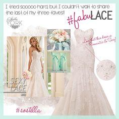 Style 6051 #SoStella #StellaYork #WeddingDress #Spring2015 #SneakPeek