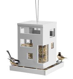 Umbra Krmítko pro ptáky Bird Cafe, bílé