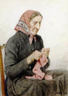 Albert Anker (1831-1910) Швейцария