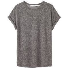 Étoile Isabel Marant Travis Top ($120) ❤ liked on Polyvore featuring tops, t-shirts, shirts, tees, shirt tops, slouchy shirts, slouchy tops, cuff shirts and slouchy tee