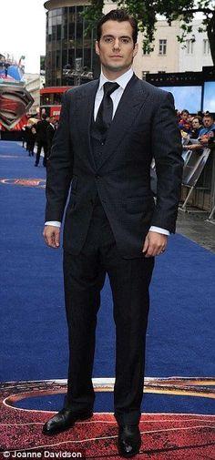 Man of Steel- Henry Cavill My new boyfriend (in my head)
