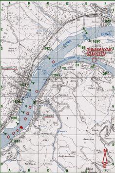 1682- 1679 fkm  Visegrád - Nagymaros - Szentendrei Szigetcsúcs vízitúra térkép