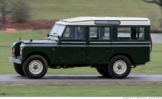1 of 8 Collectible SUVs ~ 1971-1985 Land Rover Series III