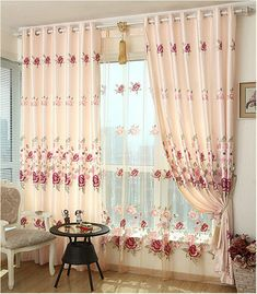 New Arrival Luxury Window Curtain For Living Room/Bedrooms /Hotel Finished Curtains+Tulle Home Furnishing/Treatment FreeShipping 2018 from bigmum, $133.02 | DHgate Mobile
