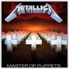 Master of Puppets is the third studio album by the American thrash metal band Metallica. It was released on March And it the best album ever made Famous Album Covers, Greatest Album Covers, Cool Album Covers, Metallica Album Covers, Metallica Tattoo, Metallica Quotes, Thrash Metal, Heavy Metal Bands, Rocker Girl