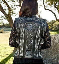 Kippys Victoria Pearl Embellished Leather Vest http://www.cowgirlkim.com/kippys-victoria-pearl-embellished-leather-vest.html
