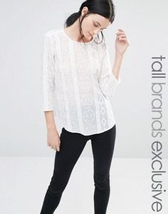 Y.A.S Tall - Coco - Blouse brodée