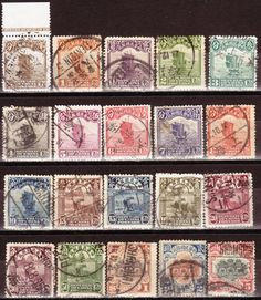 China - CHINA 1923 - 33 JUNKS PEKING SECOND PRINTING SG#309-330 PART USED SET for sale in Johannesburg (ID:198317523)