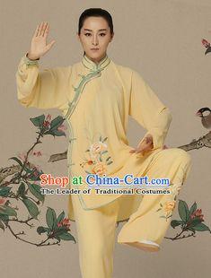 99b17bac185 Top Kung Fu Competition Suits Kung Fu Gi Kung Fu Apparel Oriental Dress Wing  Chun Apparel Taiji Uniform Chinese Kung Fu Outfit for Men Women Kids Adults