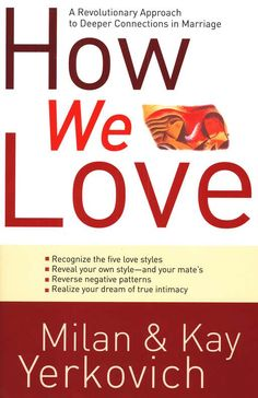 Do you want to develop a deeper connection with your spouse?   In this interview, marriage counselors Milan and Kay Yerkovich, authors of How We Love, help couples to discover and develop the five love styles that shape behaviors and expectations within marriage.