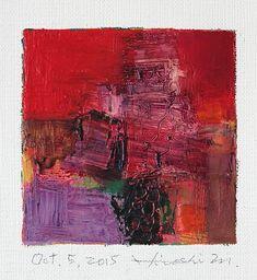 Oct. 5 2015 Original Abstract Oil Painting by hiroshimatsumoto