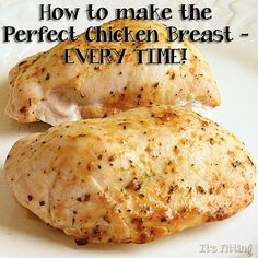 Perfect chicken ...