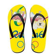 MEIDINGT Women's Or Men's Unisex Rio 2016 Olympics Ledzeppelin Desgin Flip Flops *** See this great product.