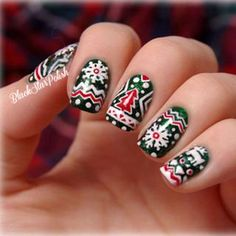 Naildesigstumblr christmas nail art design ideas nail best christmas nail art black star polish tumblr prinsesfo Choice Image