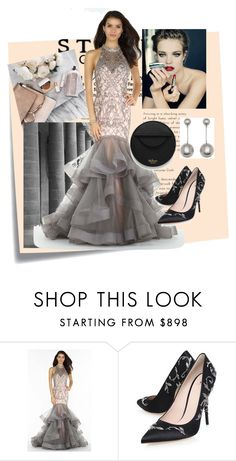 """""""Grammy Awards 2017"""" by bileyuna ❤ liked on Polyvore featuring Post-It, Alyce Paris, RALPH & RUSSO and Mulberry"""