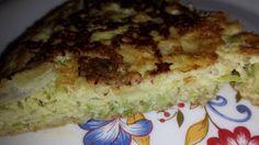 frittata leggera con zucchine a julienne4