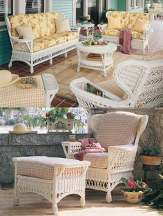 Concord wicker furniture set with optional frames colors has all the features of traditional wicker styling with built in cup holders and magazine pockets. Wicker Dining Chairs, Wicker Couch, Wicker Headboard, Wicker Bedroom, Wicker Mirror, Wicker Shelf, Wicker Man, Wicker Trunk, Wicker Planter