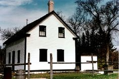 The Riel House, Winnipeg: Riel's body laid in state in his parent's house until burial.