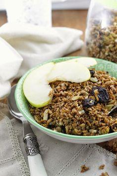 Flax granola (vegan, gluten and sugar free)