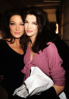carla bruni & stephanie seymour
