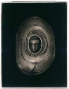 Lee Bontecou  Soot, graphite, aniline dye on muslin.
