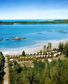 Tofino, BC - Ocean Village Tofino Resort Just booked a stay here...cannot wait!
