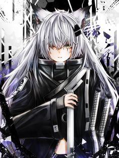 Arknights - Lappland Anime Wolf Girl, Pretty Anime Girl, Cool Anime Girl, Awesome Anime, Anime Art Girl, Thicc Anime, Otaku Anime, Kawaii Neko Girl, Werewolf Girl
