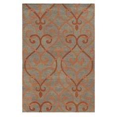 Bradberry Downs BD8856 8' x 10' Orange Area Rug | Nebraska Furniture Mart