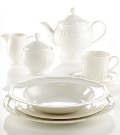 The perfect white dishes: Antique White by Mikasa | My Home + Blog ...
