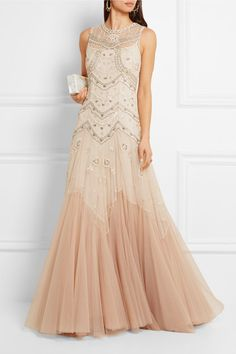 Trending Ivory and blush tulle Concealed zip fastening along back polyester Dry clean Designer color Colorful Wedding DressesColorful