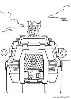 Paw Patrol Ausmalbilder Autos Ausmalbilder Bilder