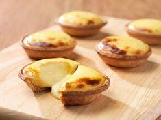 Hokkaido Cheese Tarts recipe