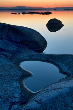 Heart shaped.Stockholm archipelago, Sweden