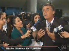Galdino Saquarema  DESABAFO: Jair Bolsonaro chama jornalista de idiota e analfabeta...