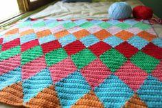 little woollie: New year, new/old blanket love