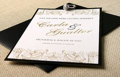 Royale Black and Gold Renaissance Save the by ComplementaryDesign, $1.50