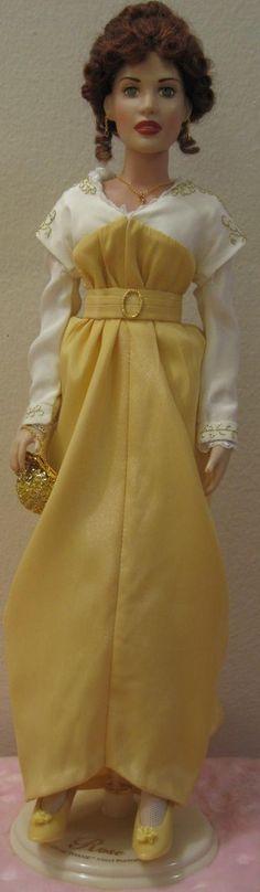 monroe form dress doll mint franklin marilyn