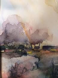 Resultado de imagem para Ann Christin Moberg #watercolor