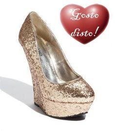 Sapatos Glitterinados - Glittering Shoes