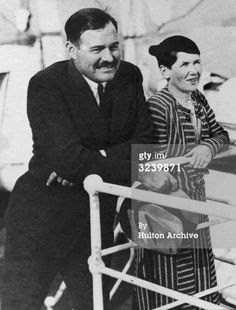 Hemingway and his second wife Pauline (Pauline Pfeiffer) married, 1927–1940.  They married in Paris after his divorce from Hadley.  Pauline's family was wealthy and Catholic; before the marriage Hemingway converted to Catholicism. By the end of the year Pauline, pregnant, wanted to move back to America.  John Dos Passos recommended Key West, and they left Paris in March 1928. They had 2 sons, Patrick and Gregory.
