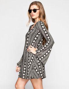 LIRA Farrah Bell Sleeve Dress 243881127 | Short Dresses | Tillys.com