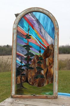 Love Northern Lights stained glass patterns Stained Glass Light, Stained Glass Door, Stained Glass Designs, Stained Glass Panels, Stained Glass Projects, Stained Glass Patterns, Mosaic Art, Mosaic Glass, Mosaics