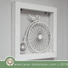 This ready-to-go Vintage Bicycle Frame is perfect for laser cutting. Try something new and create unique products suitable for Interior Decorating, Birthday Gifts, Special Occasion Gifts and so on. New Bicycle, Bicycle Rack, Cool Bicycles, Vintage Bicycles, Truck Bike Rack, Bike Shelf, Shelves For Sale, Bike Frame, Electric Bicycle