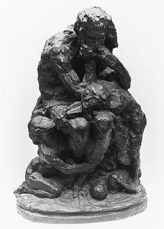 Carpeaux, Jean Baptiste, Impressionist, Rome, Sculptures, Survival, It Cast, French, Antiques
