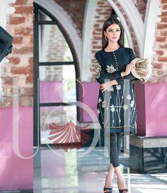 Plush Embroidered Kurtis Eid Collection by Riaz Arts EK_32