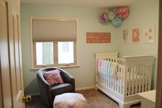 Cute, simplistic nursery