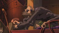 15 Fascinating Facts About 'Spirited Away'   Boh means little boy or son, Kamaji means old boiler man, Yubaba means bathhouse witch, and Zeniba means money witch. The heroine Chihiro means a thousand fathoms or searches, while her worker name, Sen, just means thousand.